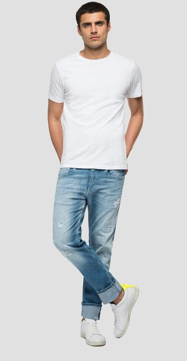 Straight fit 573 BIO Grover jeans - Replay MA972_000_573-814_010_1