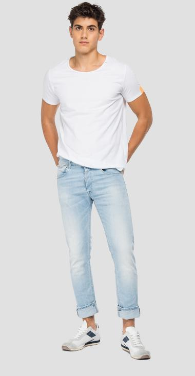 Straight fit 573 BIO Grover jeans - Replay MA972_000_573-816_011_1