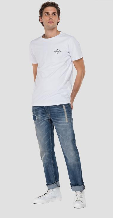 Straight fit Grover Scar jeans - Replay MA972_000_573-SC1_009_1