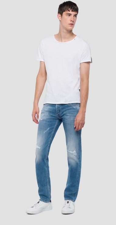 Straight fit Grover jeans - Replay MA972_000_93C464R_010_1
