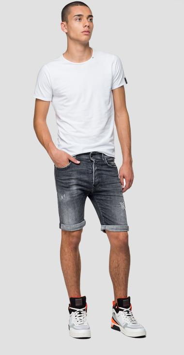 Bermudas de corte tapered RBJ901 Aged 5 years - Replay MA981B_000_199-685_097_1