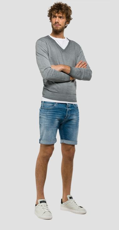 Rbj.901 tapered-fit bermuda shorts - Replay MA981_000_23C-940_009_1