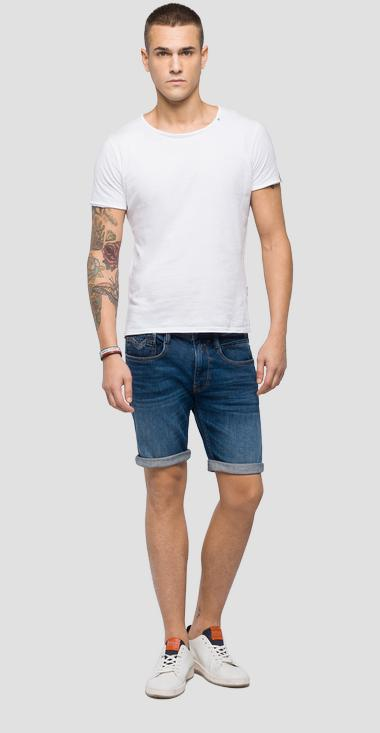 Slim Fit Anbass Bermudashorts - Replay MA996_000_101-432_007_1