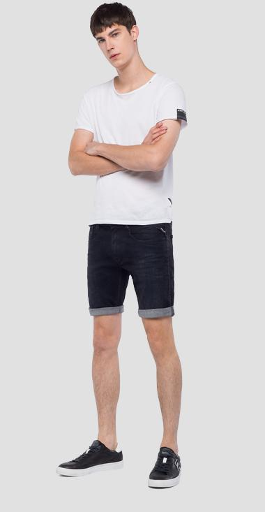 Slim fit Anbass bermuda shorts - Replay MA996_000_135-420_098_1