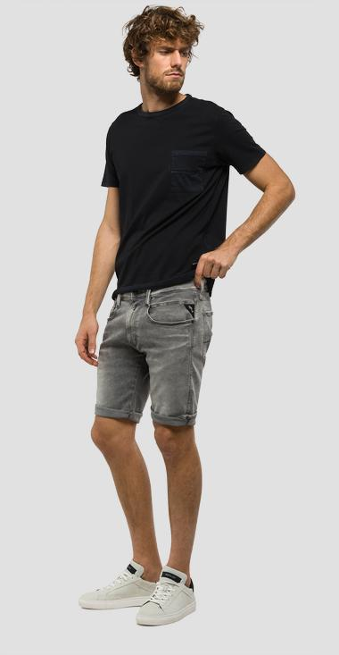 Hyperflex Anbass slim-fit bermuda shorts - Replay MA996_000_661-07B_009_1