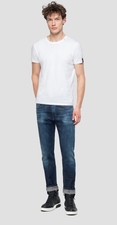 Slim fit Anbass Ice Blast jeans - Replay MB914_000_141-574_007_1