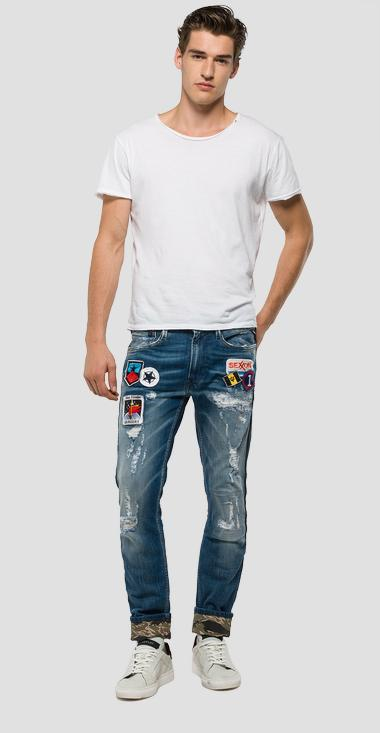 Anbass slim-fit jeans - Replay MB914_000_21A917S_007_1