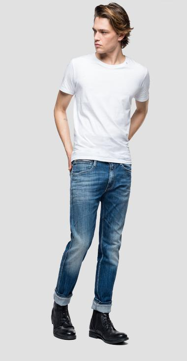 Slim fit Anbass Ice Blast jeans - Replay MB914_000_573-576_009_1