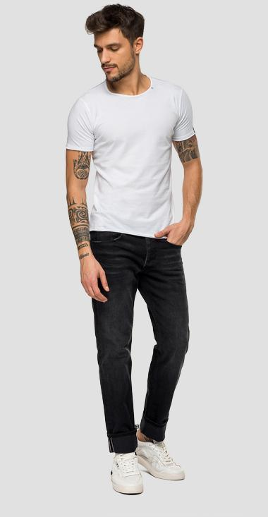 Slim fit Ronas Selvedge jeans - Replay MCA946_000_109-609_097_1