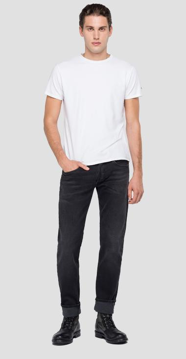 Slim fit Ronas Selvedge Eco Edition jeans - Replay MCA946_000_109-777_097_1