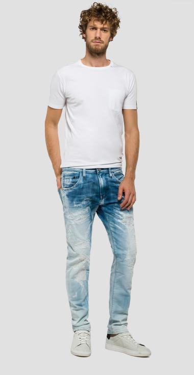 Numasig tapered-fit jeans - Replay MR919_000_21A-954_010_1