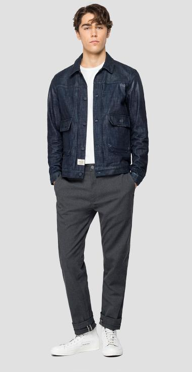 Tailoring denim jacket - Replay MV860_000_281-Z21_007_1