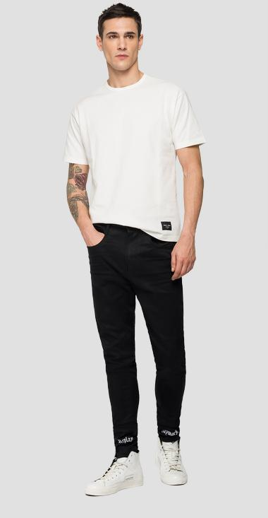 REPLAY NEYMAR NJR Capsule Collection Hyperflex Bio skinny-fit jeans - Replay NJ967_000_661NJ02_098_1