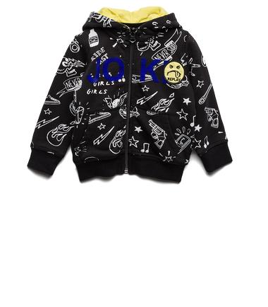 Boys' all-over print hoodie- REPLAY&SONS PB2385_057_29265X_098_1