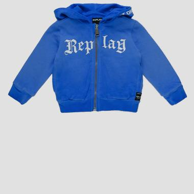 Replay sweatshirt with zipper- REPLAY&SONS PB2417_050_22072_888_1
