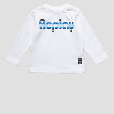 Long-sleeved t-shirt- REPLAY&SONS PB7060_071_22784_002_1