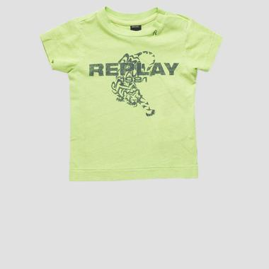 T-shirt stampa tigre- REPLAY&SONS PB7308_075_22660G_732_1