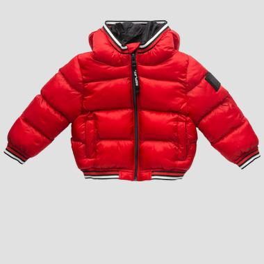 Padded jacket with hood- REPLAY&SONS PB8091_050_83406_914_1