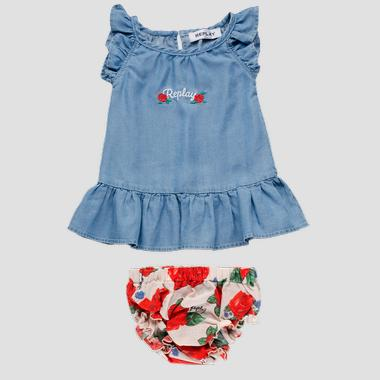Dress with floral underpants- REPLAY&SONS PG3205_050_50103_001_1