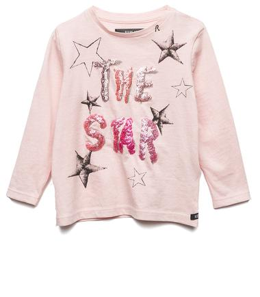 Girls' printed jersey T-shirt- REPLAY&SONS PG7091_051_20994_513_1