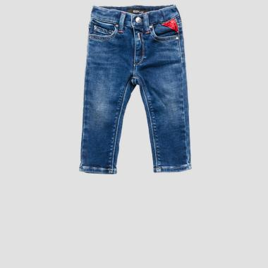 Five pockets REPLAY stretch jeans- REPLAY&SONS PG9208_050_291-206_001_1