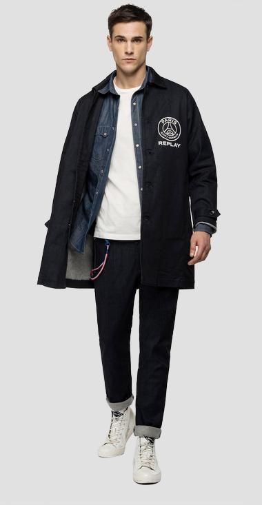 Replay PSG denim trench coat - Replay PSG896_000_135-G05_007_1