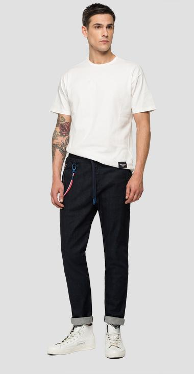 Replay PSG tapered-relaxed fit jeans - Replay PSG965_000_135-G05_007_1