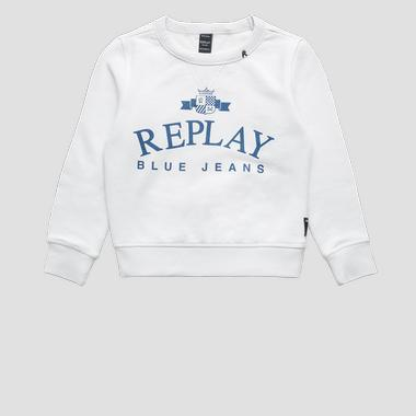 REPLAY BLUE JEANS sweatshirt- REPLAY&SONS SB2026_056_22739_985_1