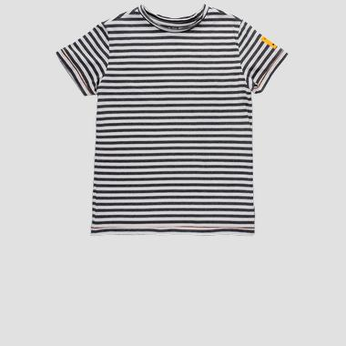 Regular fit striped Replay t-shirt- REPLAY&SONS SB7345_050_52254_010_1