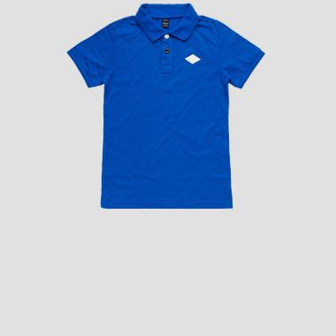REPLAY polo t-shirt in cotton- REPLAY&SONS SB7524_060_22704G_185_1