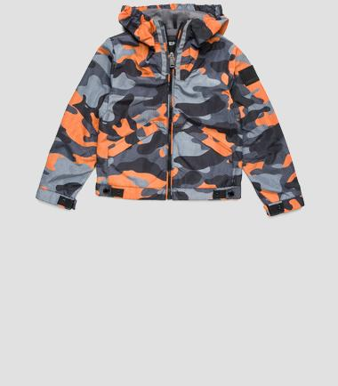 Boys' camouflage jacket- REPLAY&SONS SB8008_050_71204_010_1