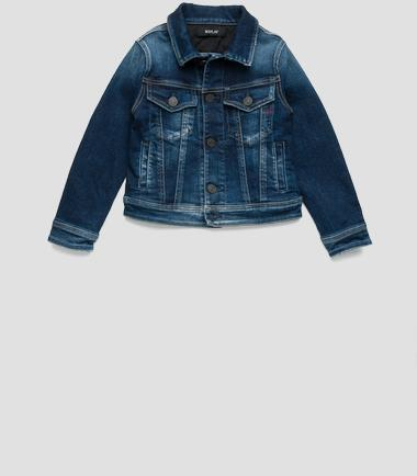 Boys' denim jacket- REPLAY&SONS SB8100_054_35C-323_001_1