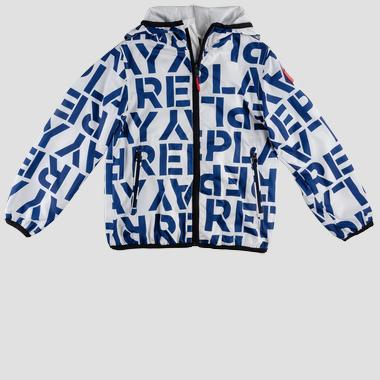 Lightweight jacket with all-over print- REPLAY&SONS SB8181_050_82692KD_010_1