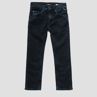 Jean coupe slim power stretch foncé- REPLAY&SONS SB9011_015_15D-392_010_1