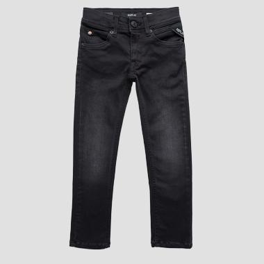 Super slim fit Hyperflex jeans- REPLAY&SONS SB9326_058_661-06B_009_1