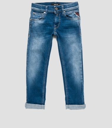 Boys' five-pocket slim-fit jeans- REPLAY&SONS SB9329_053_93A-321_001_1