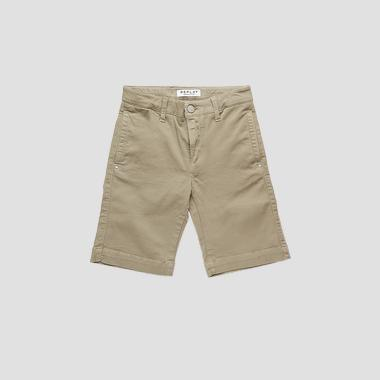 Slim fit bermuda shorts in stretch cotton- REPLAY&SONS SB9512_050_8410930_723_1