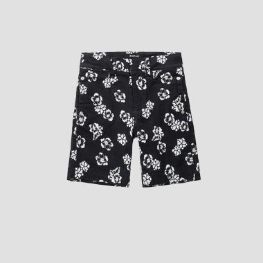 Shorts stampa floreale- REPLAY&SONS SB9642_050_80655KC_010_1