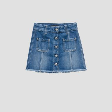 Denim short skirt- REPLAY&SONS SG4053_050_100-837_001_1