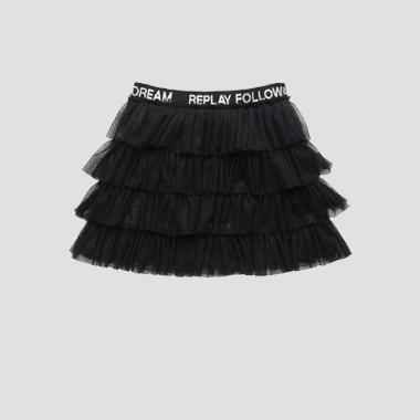 Tulle short skirt- REPLAY&SONS SG4464_050_80004_098_1