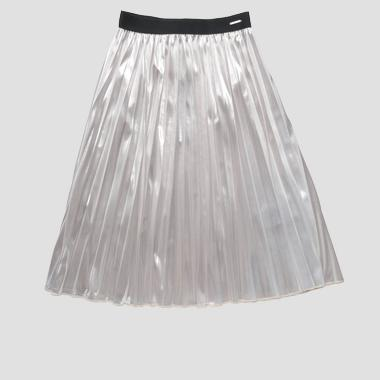 Pleated mid calf dress- REPLAY&SONS SG4714_051_83500_010_1