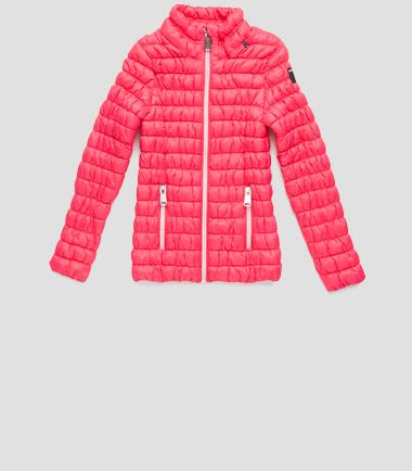 Girls' lightweight down jacket- REPLAY&SONS SG8150_050_80874_897_1