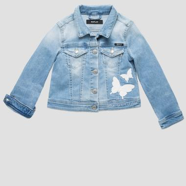 Embroidered denim jacket- REPLAY&SONS SG8203_050_93A-468_011_1