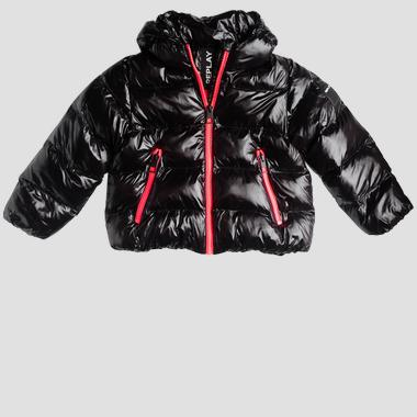 Padded jacket with zipper- REPLAY&SONS SG8207_050_83420_098_1