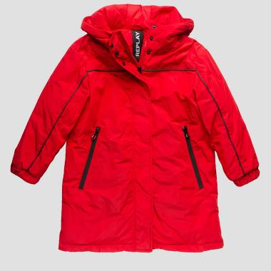 Long jacket with hood- REPLAY&SONS SG8213_050_83110_457_1