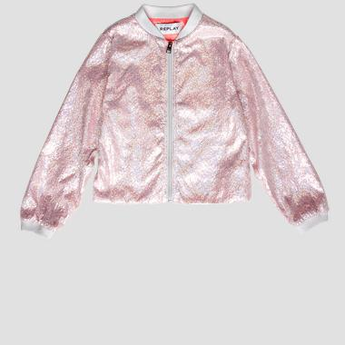 Nylon jacket with sequins- REPLAY&SONS SG8228_050_83618_010_1