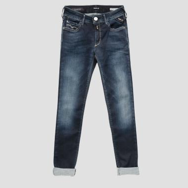 Super skinny fit Hyperflex jeans- REPLAY&SONS SG9208_080_661-02D_009_1