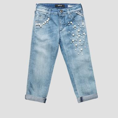 Jeans carrot fit con perline- REPLAY&SONS SG9279_055_115-482_001_1