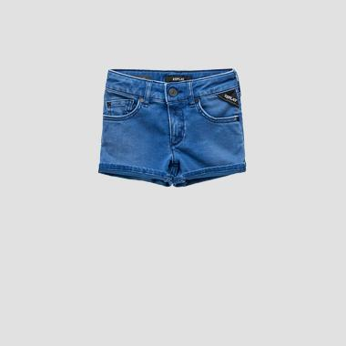 Hyperflex denim shorts- REPLAY&SONS SG9581_050_661-DI2_007_1
