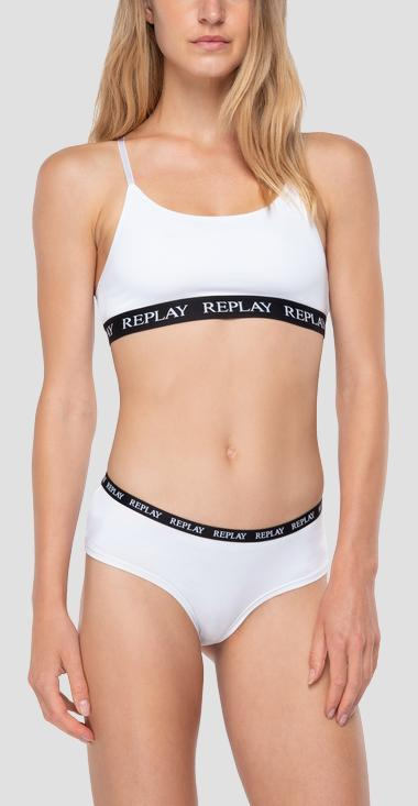Pack of 2 hipster briefs with contrast waistband - Replay TW295_000_I101295_N171_1